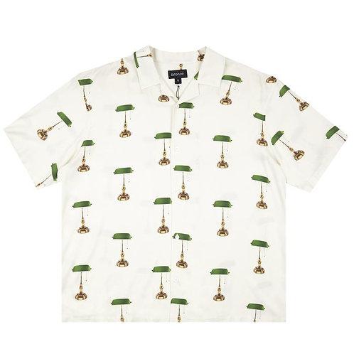 Bronze: Bankers Lamp Rayon Shirt