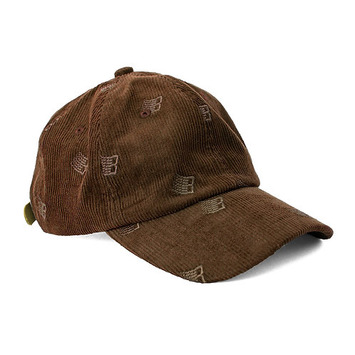 Bronze: Allover Embroidered Hat