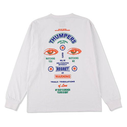 Thumpers: Security Sign L/S Tee