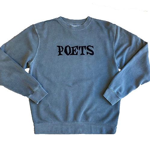 Poets: Velvet Crewneck