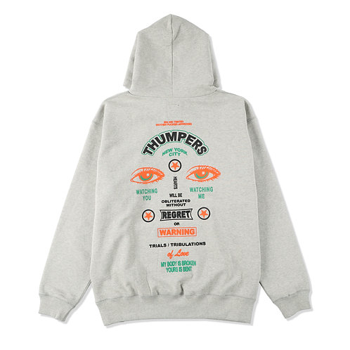 Thumpers: Security Sign Hoodie