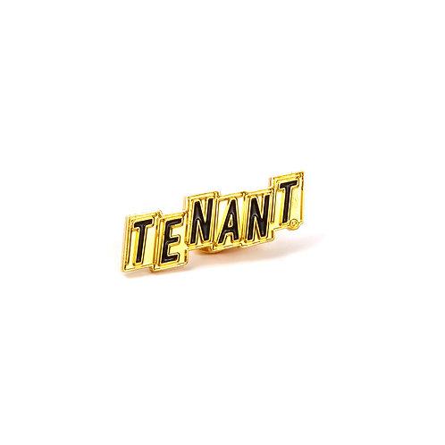 Tenant®: Address Enamel Pin