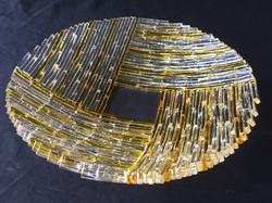 Amber pinwheel