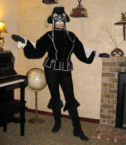Puss-in-Boots - full costume