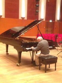Enregistrement du CD de Schumann