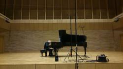 Enregistrement du CD de Beethoven