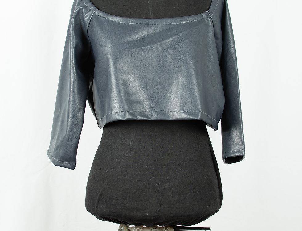 Delphinium shine - short pullover