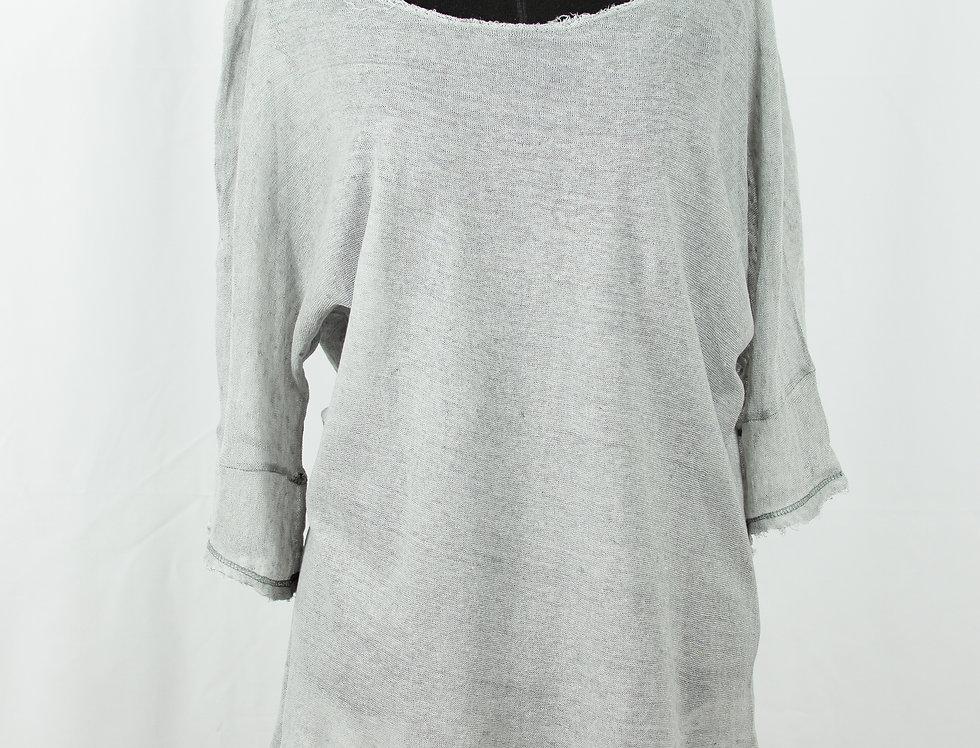 Linen shirt short