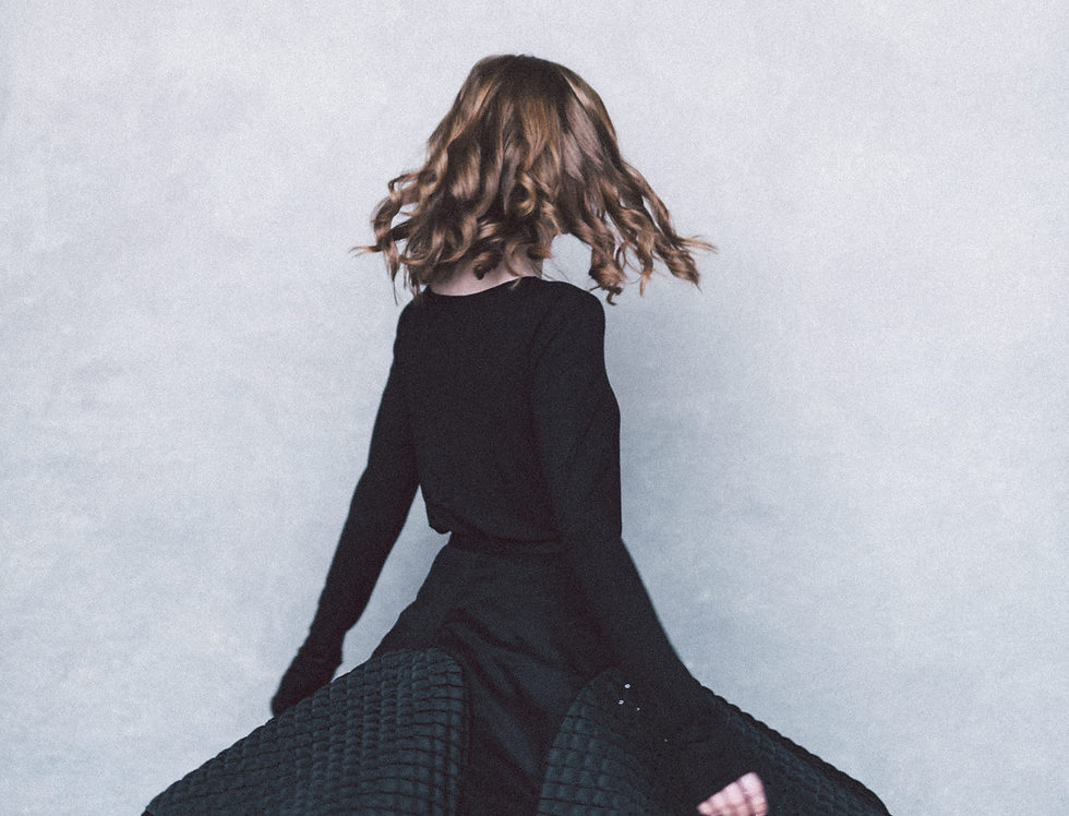 Brugmansia - circle skirt