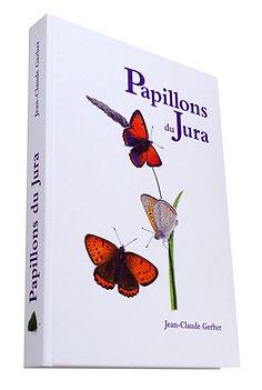"""Livre """"Papillons du Jura"""""""