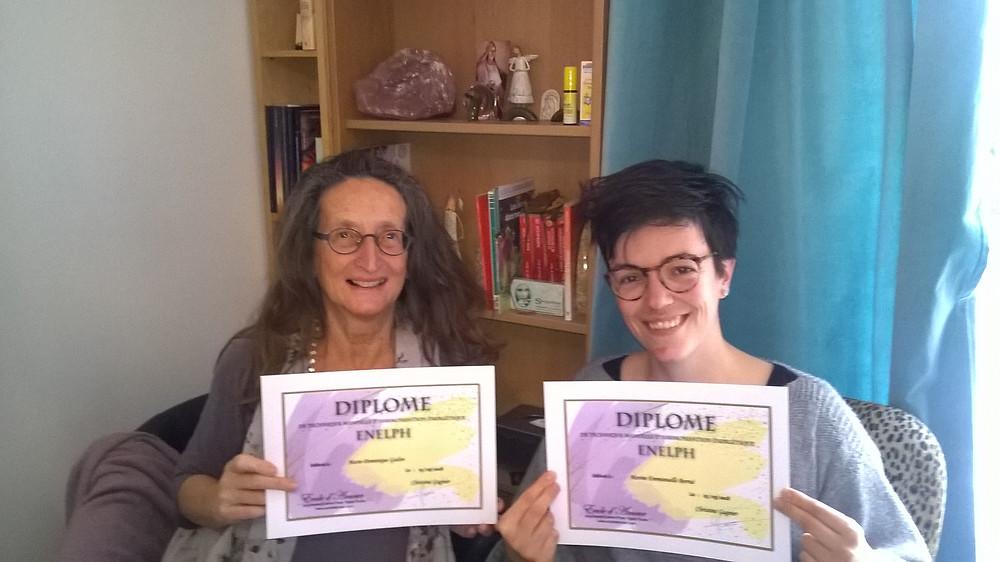 Diplômées Enelph le 25 Mars 2018
