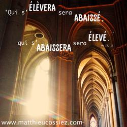 Matthieu 23, 12, Bible