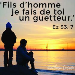 Ezéchiel 33,7 bible