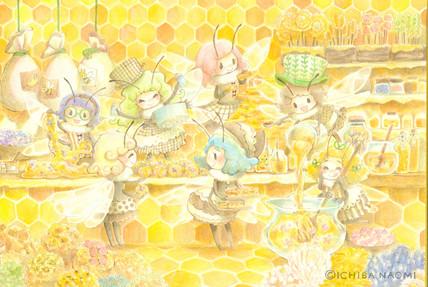 ハチのおしごと