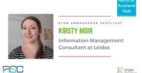 Spotlight: Kirsty Duana Moir, Information Management Consultant at Leidos