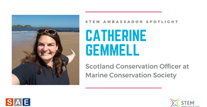 Spotlight: Catherine Gemmell, Scotland Conservation Officer at Marine Conservation Society