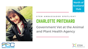 Spotlight: Charlotte Pritchard, Government Vet at Animal and Plant Health Agency