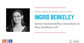 Spotlight: Ingrid Berkeley, Senior Sustainability Consultant at Max Fordham LLP