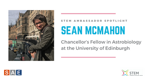 Spotlight: Sean McMahon, Chancellor's Fellow in Astrobiology at the University of Edinburgh
