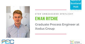 Spotlight: Ewan Ritchie, Graduate Process Engineer at Xodus Group