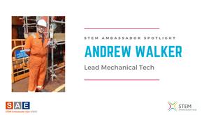 Spotlight: Andrew Walker, Lead Mechanical Tech/Maintenance Team Leader at Spirit Energy