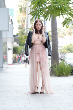Leather & Tulle