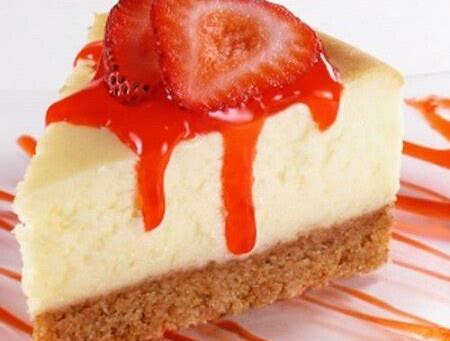 Our Valentine Perogy Strawberry Cheesecake Perogy