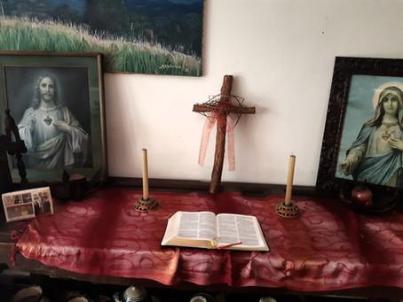 Semana Santa desde el hogar - Familia Angel Baraona