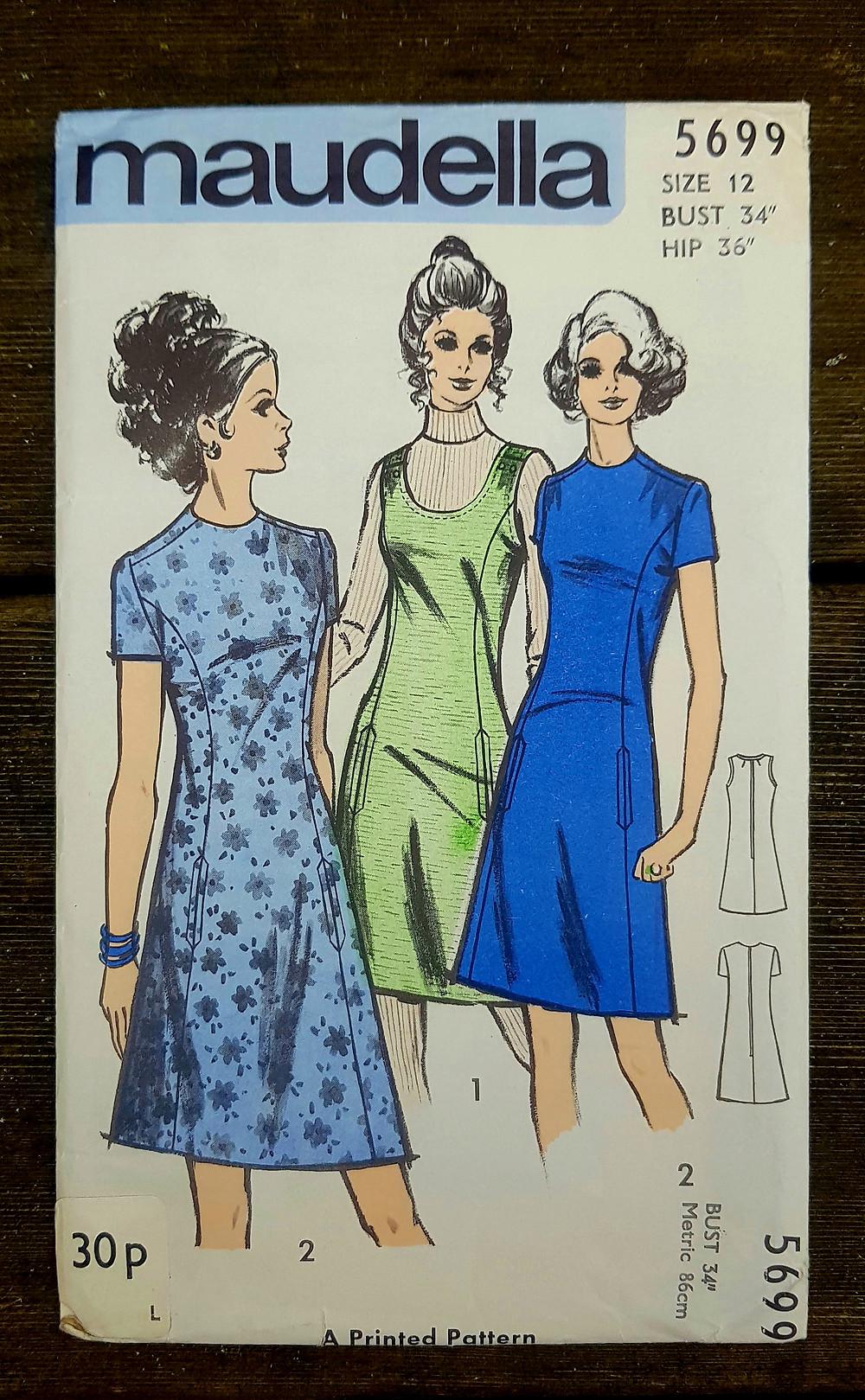 Maudella 5699 dress with pockets