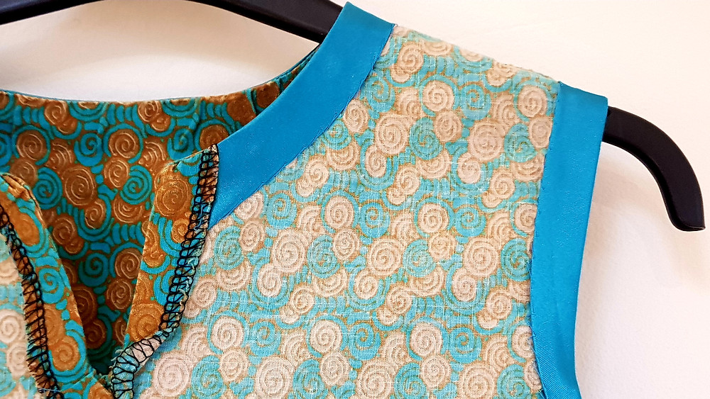 Simple Chic No 6 simple blouse african wax fabric
