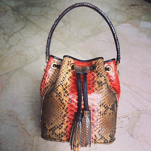 Phyton Bucket Bag