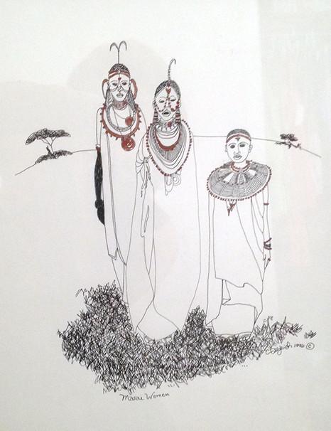 Masai Brides