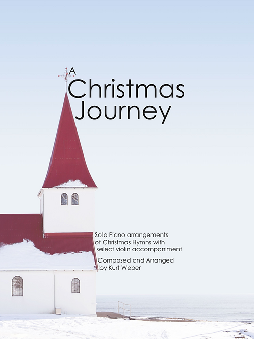 A Christmas Journey Sheet Music Book