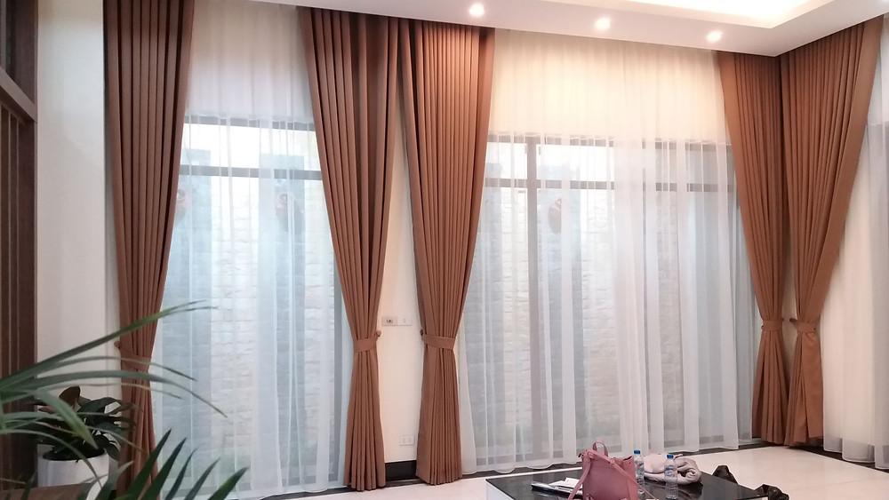 Lựa chọn rèm cửa theo phong cách thiết kế của ngôi nhà