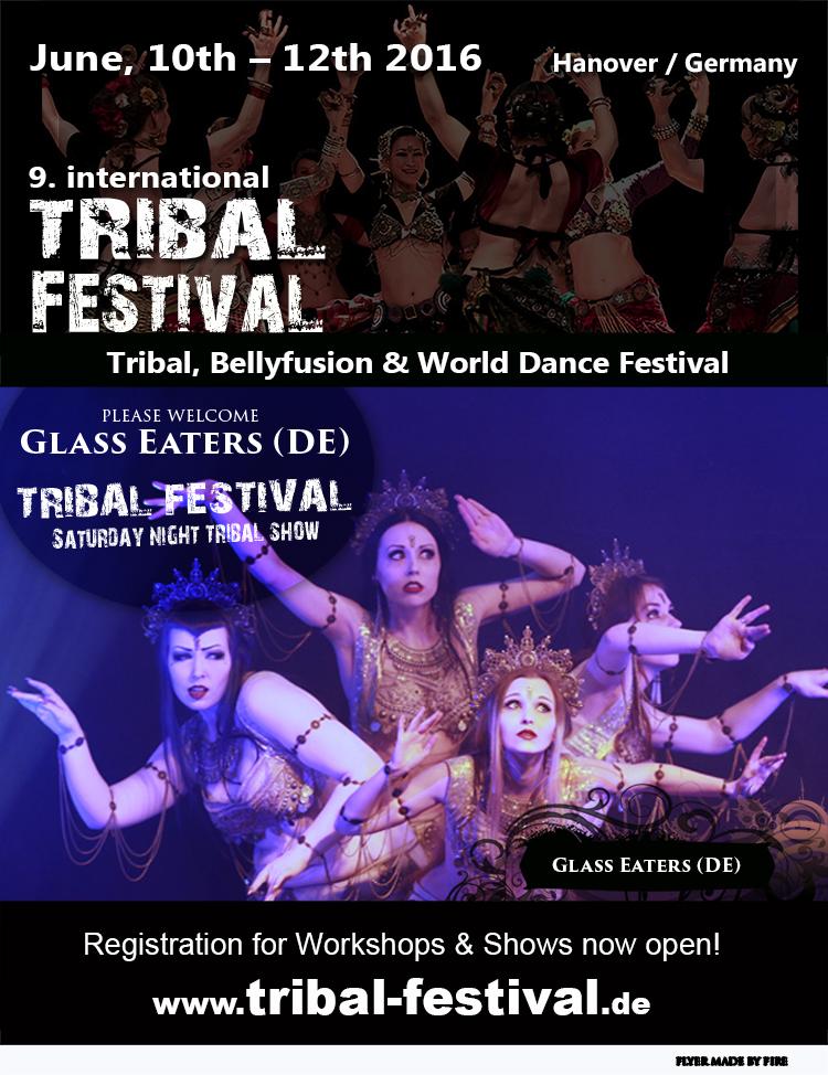 Flyer Tribal Festival 2016