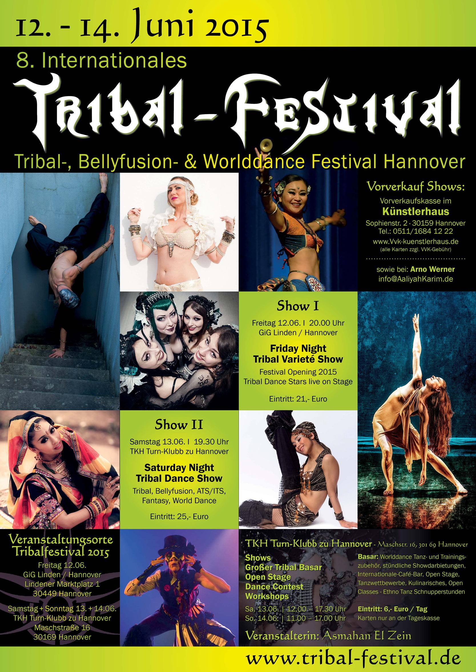 Tribal-Festival Hannover 2015