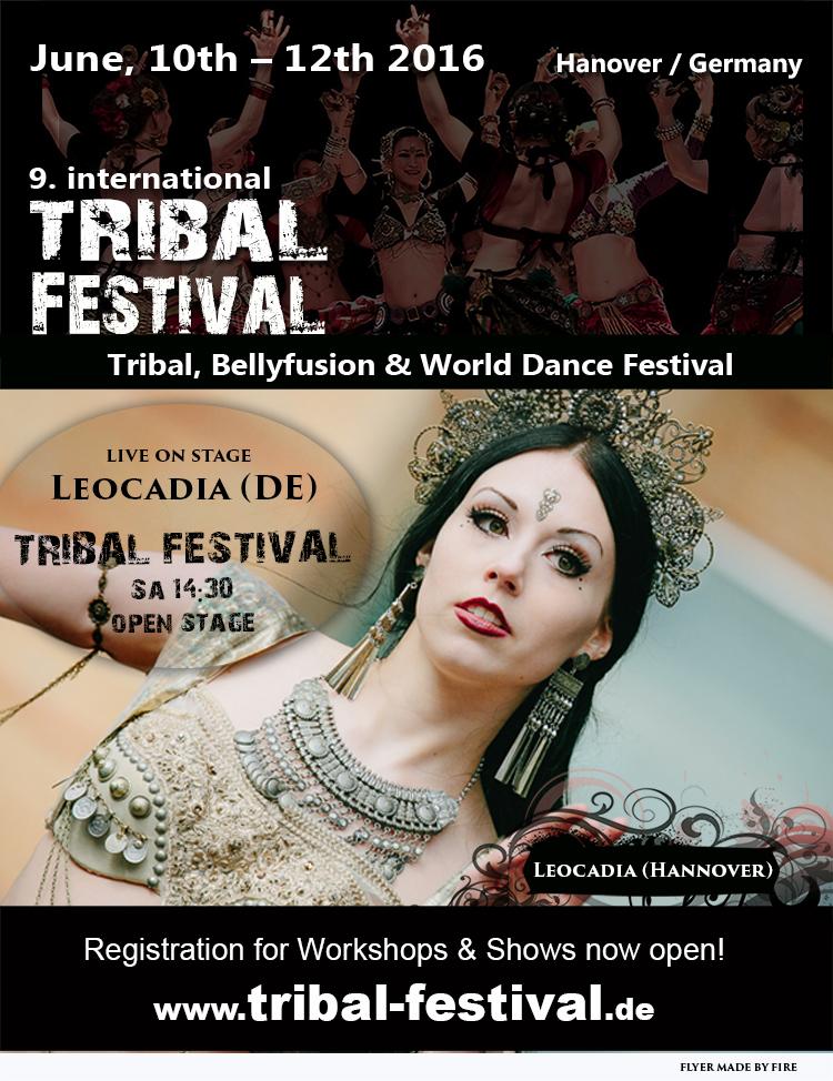 Flyer Tribal Festival 2016 Leocadia