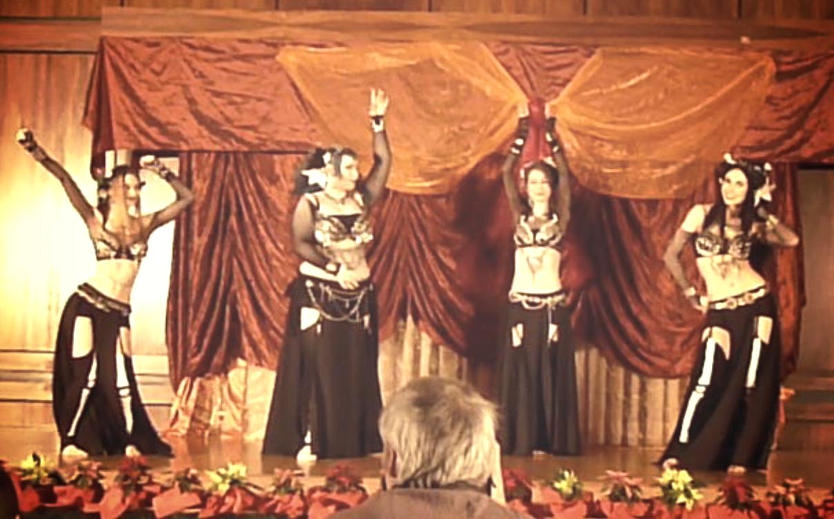 Weihnachtsfeier Tanzraum 2014
