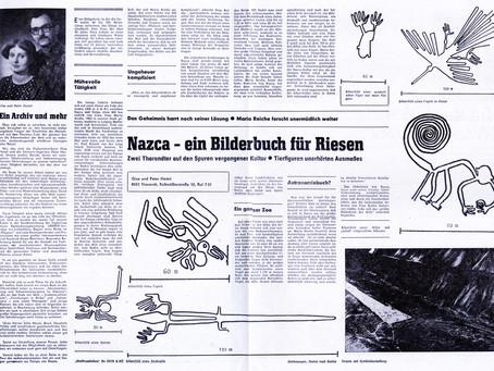 Nazca und das Archiv in Tharandt