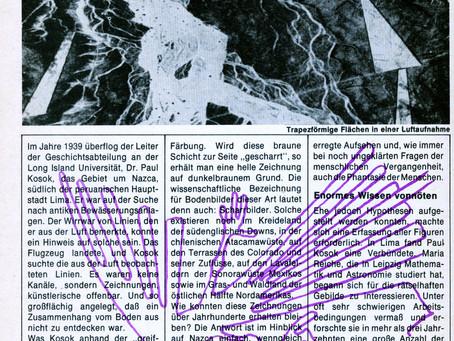 Nazca - Bilderbuch der Riesen