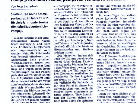 Wahlkampf in Pompeji vor 2000 Jahren