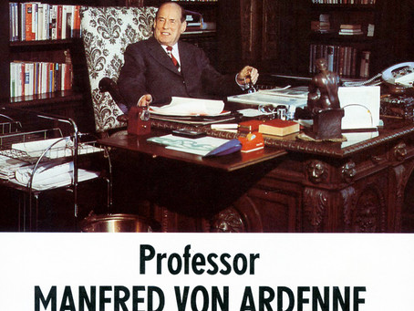 Besuch bei Manfred von Ardenne in Dresden