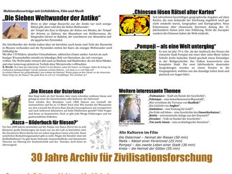 Archivwerbung 2009