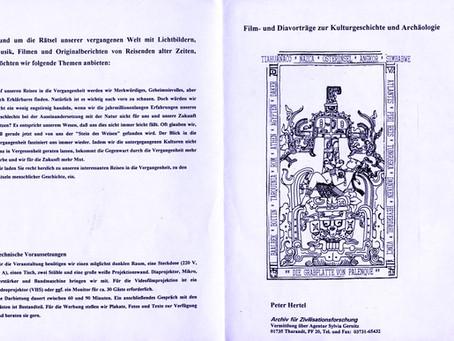 Vortragswerbung 1993