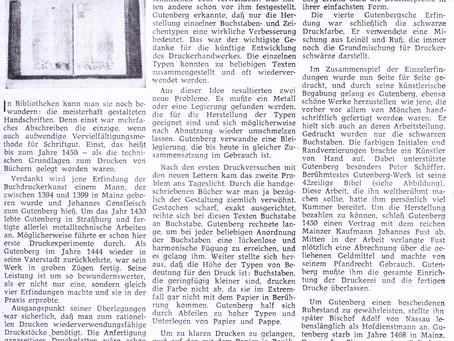 Gutenberg erfand die Buchdruckerkunst Sternstunden (8)
