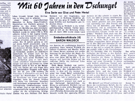 Baron Waldeck (Entdeckerschicksale (4)