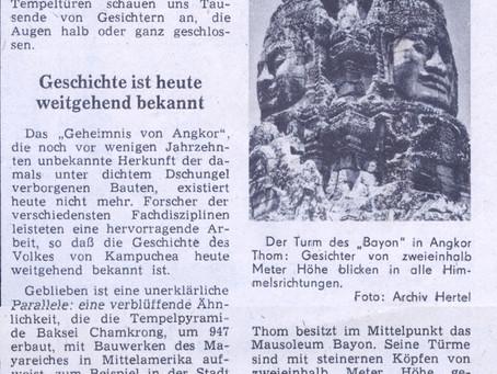 Angkor Welterbe übersteht das Pol-Pot-Regime
