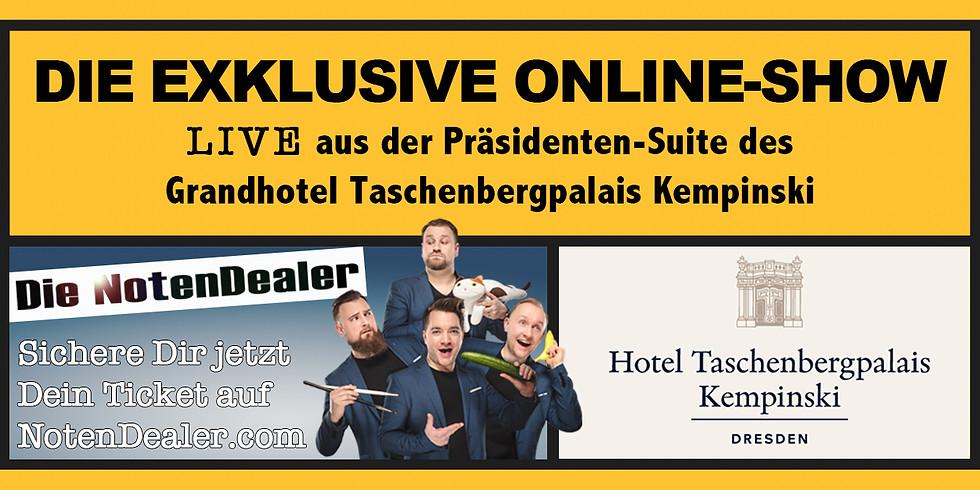 Grandhotel Taschenbergpalais Kempinski & BNI Südost präsentieren: Die NotenDealer LIVE aus der Präsidenten-Suite