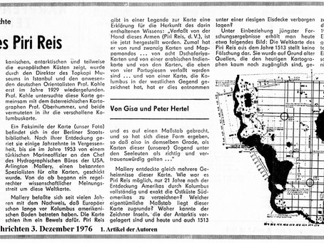 Die Erdkarte (keine Weltkarte) des Pirir Reis
