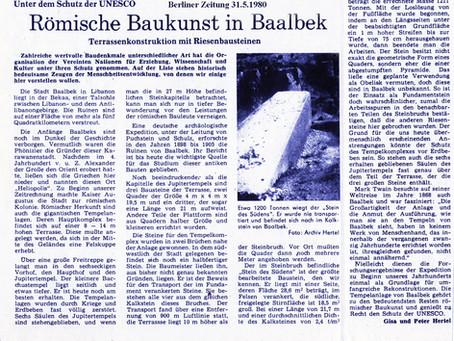 Römische Baukunst in Baalbek